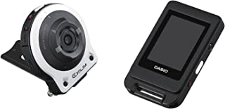 CASIO デジタルカメラ EXILIM EXFR10WE カメラ部/コントロール部分離 フリースタイルカメラ 1410万画素 EX-FR10WE ホワイト