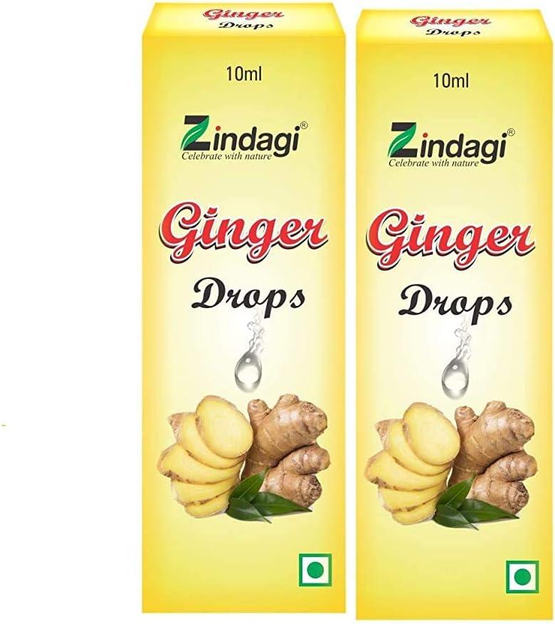 Radhe Zindagi Pure Ginger Drops for Cooking Gi Baking Edible Max 79% OFF Regular dealer -