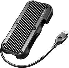 ineo M.2 NVMe (PCIe) USB 3.2 Gen 2 Type-C Rugged Waterproof Shockproof Aluminum Cover SSD Enclosure [C2594-NVME]