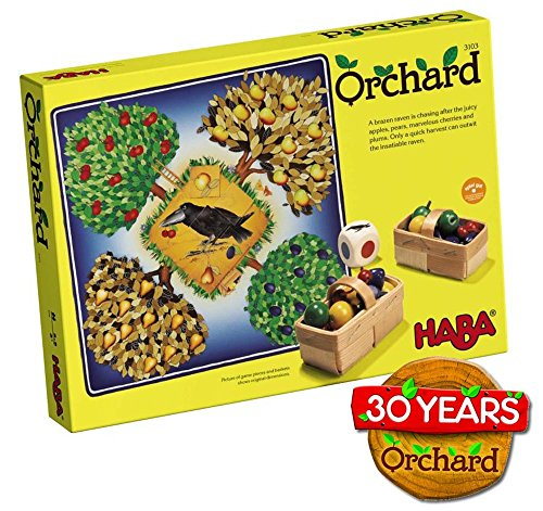 HABA Orchard Game - A Classic Cooperative Introduction to Board Games for Ages 3...