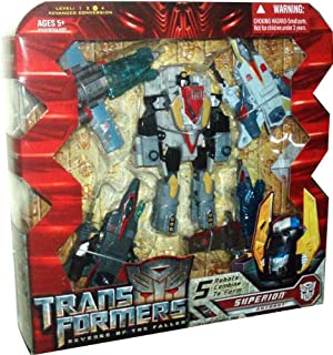 Transformers Movie Series 2 Revenge of the Fallen 5 Pack Robot Action Figure - SUPERION with Silverbolt, Fireflight, Air Raid, Skydive and Airazor