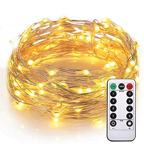 Cuzile luces alambre Impermeable 100 Leds 10M 33FT