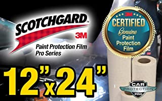 12 x 24 Certified Genuine 3M Scotchgard Pro Series Paint Protection Film Bulk Roll Clear Bra Piece