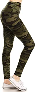 REG/Plus Women's Buttery Soft High Waisted Printed Leggings