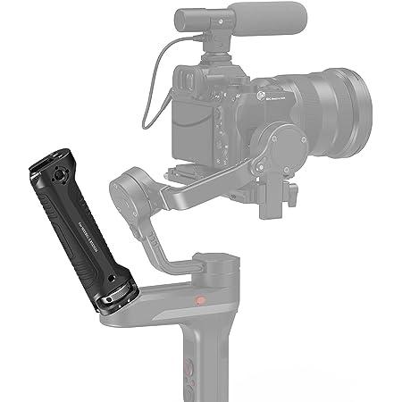 SMALLRIG Griff Handgriff NUR für Zhiyun-Tech WEEBILL-S Gimbal mit Kaltschuhhalterung Eingebauter Schraubenschlüssel, Mehrere Gewindelöcher - BSS2636