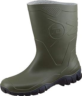 Dunlop Bottes en Caoutchouc Homme - Vert - Vert Olive- 46 EU