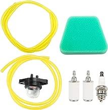 Leopop 530037793 Air Filter 530095646 Fuel Filter for Poulan Woodshark WildThing Craftsman 34 38 40 42 cc Chainsaw Parts Fuel Line Primer Bulb Spark Plug Tune Up Maintenance Kit