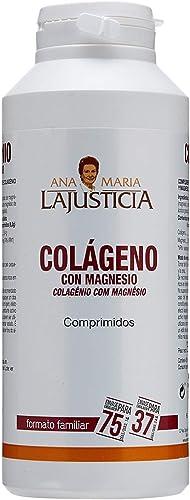 Ana Maria Lajusticia - Colágeno con magnesio – 450 comprimidos articulaciones fuertes y piel tersa. Regenerador de te...