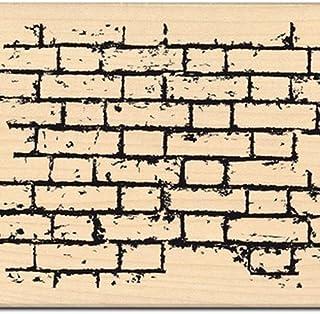 Florilèges Design FH211083 Tampon Scrapbooking Mur de Briques, Beige
