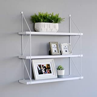 3-tier display wall shelf