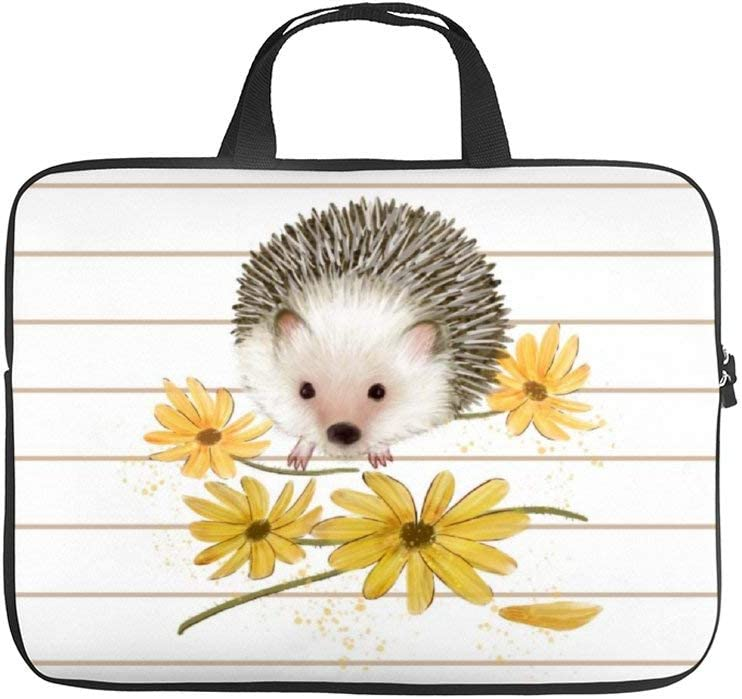 Diving Fabric,Neoprene,Sleeve Laptop Handle Bag Handbag Notebook Case Cover Hedgehog,Classic Portable MacBook Laptop//Ultrabooks Case Bag Cover 15 inches