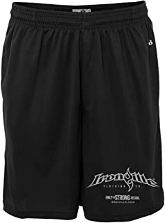 Ironville Gym Weightlifting Shorts Horizontal Logo