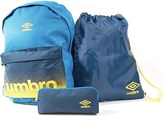 Pack UMBRO Mochila - Saco - Estuche Azul