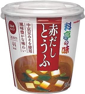 マルコメ カップ料亭の味 赤だしとうふ 即席味噌汁 1食×6個