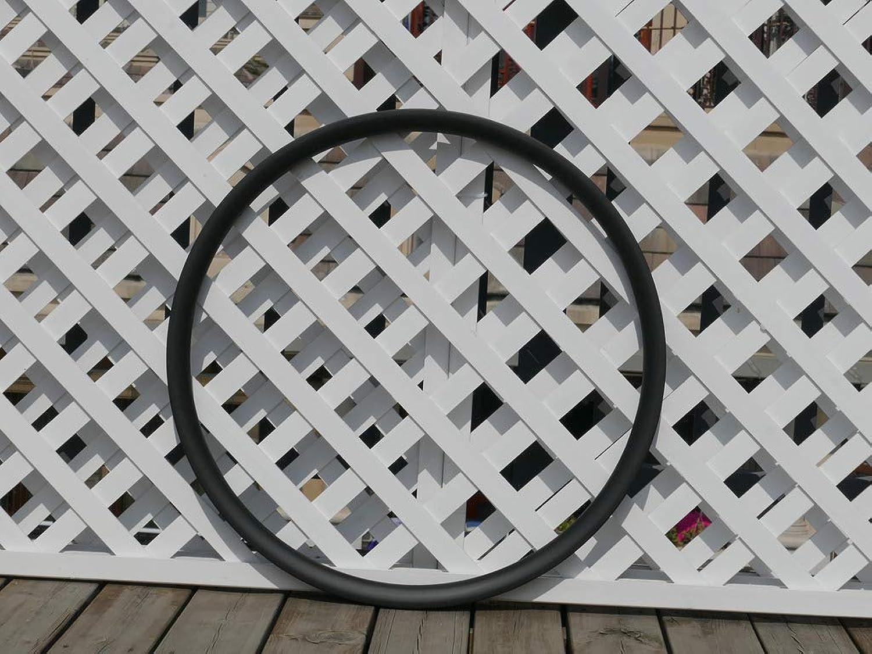 Width 25mm Wide U Shape Bicycle UD Carbon Matt 650B Mountain Bike Clincher Wheel Rim (for Disc Brake) 32 32 Holes Carbon 27.5ER MTB Rims 27.5