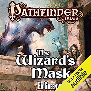 The Wizard's Mask audiobook cover art