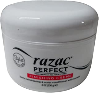 Razac Perfect For Perms Finish Creme 8 Ounce (235ml) (3 Pack)