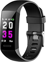 Fitness Tracker with Heart Rate Monitor, Upgrade Activity Tracker with Color Screen Smart Watches, blood pressure monitor watch IP67 Waterproof, Sleep Monitor Smart bracelets for Women Men Kids.