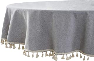 Best farmhouse round tablecloth Reviews