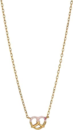 Marc Jacobs - Something Special Dipped Pretzel Pendant Necklace