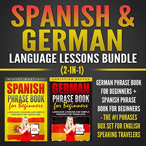 Spanish & German Language Lessons Bundle (2-in-1) Titelbild