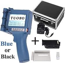 Tuobo Portable Intelligent High Definition Handheld Inkjet Printer, Inkjet Code Printer,Label Printer,LED Screen Display Inkjet Coding Machine for Trademark,Logo,Graphic (Handheld Inkjet Printer)