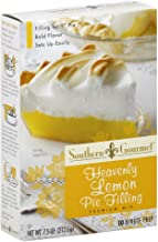 Southern Gourmet Heavenly Lemon Pie Filling, 7.5 Ounce (Pack of 6)