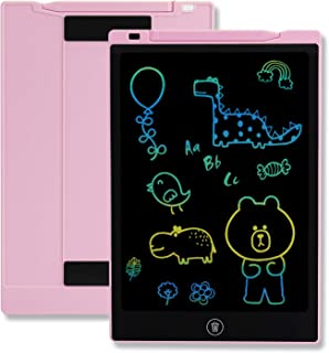 TEKFUN Girls Gifts Toys for 3-6 Year Old Girls, LCD Writing Tablet Toddler Doodle Board, 11inch Colorful Drawing Tablet Writing Pad, Educational and Learning Toy Birthday Gift (Pink)