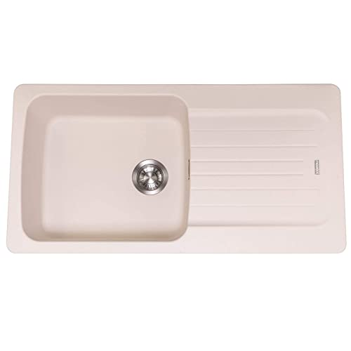 Astounding 1 Bowl Kitchen Sinks Amazon Co Uk Download Free Architecture Designs Scobabritishbridgeorg
