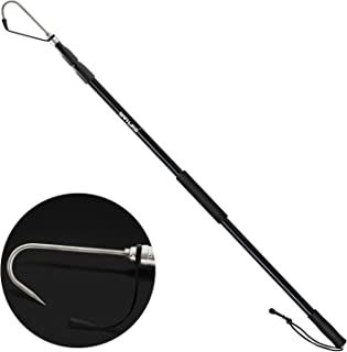 SAN LIKE Telescopic Fishing Gaff,Aluminum/Fiberglass Pole...