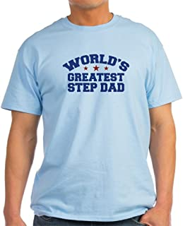 World's Greatest Step Dad Light Cotton T-Shirt