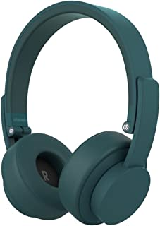 Urbanista Seattle - Wireless Bluetooth On-Ear Headphones, Touch Control Technology, 12H Playtime, with Built-in Mic, Aux port, Compatible with Android and IOS - Petroleum Blue