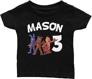 Personalize Five Nights of Freddy Birthday Shirt