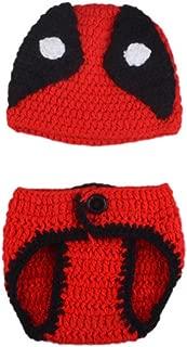 Newborn Baby Unisex Girl/Boy Crochet Knit Costume Hats Outfits Photography Prop Baby Halloween Christmas Costume