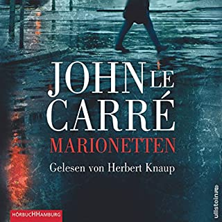 Marionetten                   Autor:                                                                                                                                 John le Carré                               Sprecher:                                                                                                                                 Herbert Knaup                      Spieldauer: 6 Std. und 32 Min.     17 Bewertungen     Gesamt 3,4