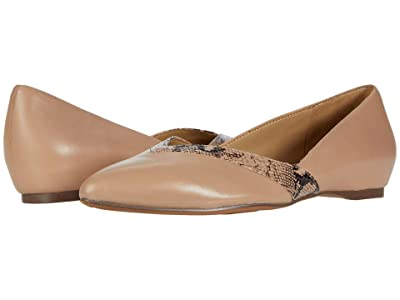 Naturalizer Sandara (Barely Nude Leather/Snake) Women