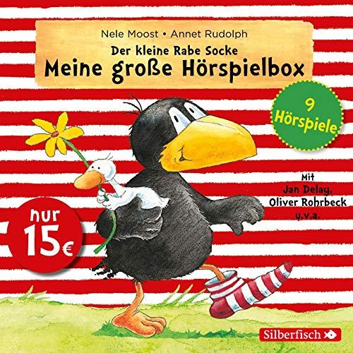 Der kleine Rabe Socke - Meine große Hörspielbox (Kleiner Rabe Socke ): Alles rabenstark!, Alles aufgeräumt!, Alles kaputt! / Alles vermurkst!, Alles ... Alles für dich!, Alles getröstet!: 3 CDs