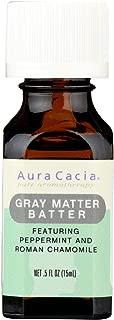 Aura Cacia, Essential Oil Gray Matter Batter, 0.5 Fl Oz