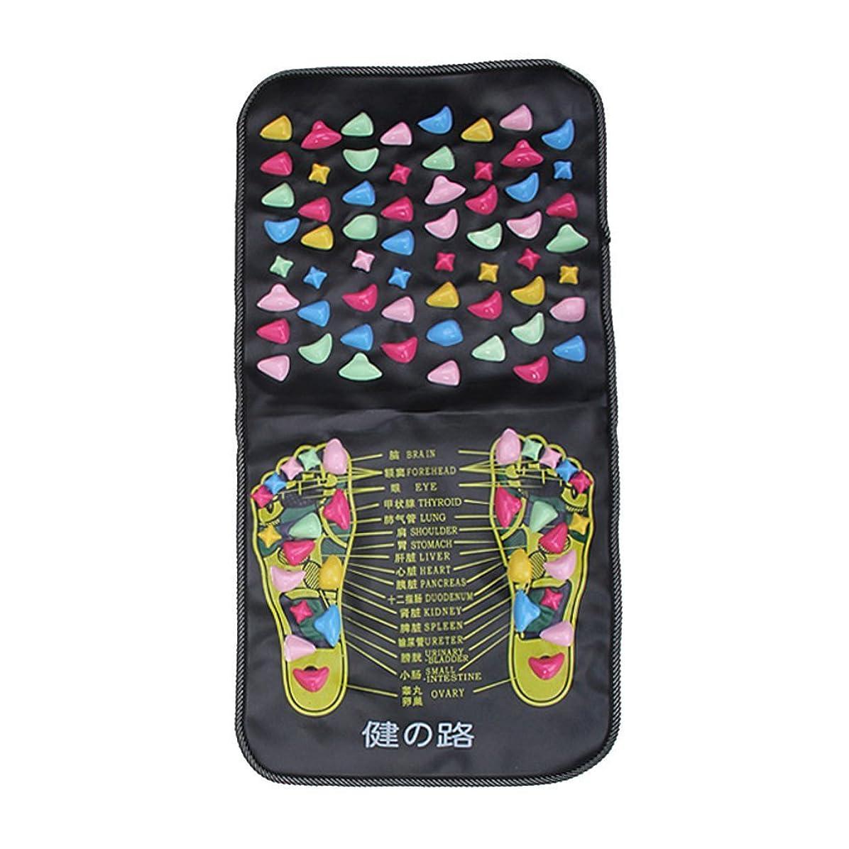 羨望財布上流のHomeland 足裏鍛錬マット フットマッサージマット 足つぼマッサージマット 折りたたみ式 健康器具