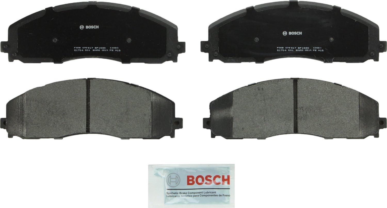 Bosch Max Max 54% OFF 53% OFF BP1680 QuietCast Premium Semi-Metallic Brake Pad Disc Set