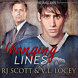 Changing Lines audiobook cover art