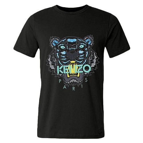 f2637f39 DHSVXBBBB Mens T-shirts Kenzo Logo 2016 Black Size L