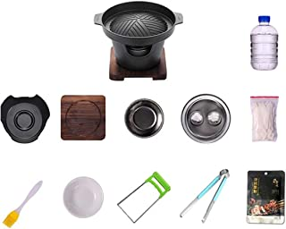 Household barbecue grill barbecue stove household smokeless barbecue grill indoor small barbecue grill grill` (Color : STY...