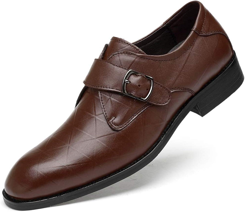 läder skor herrar Affärs Casual skor Män's läder Point Dress skor bröllop Working skor svart Mans skor 36 bröllop skor Store Storlek små Code (Färg  bspringaaa, Storlek  35)