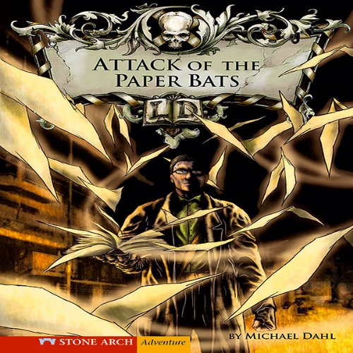 Attack of the Paper Bats audiobook cover art