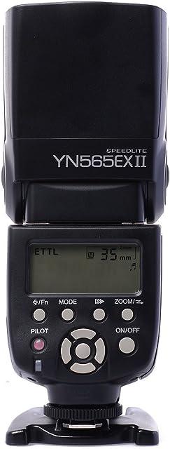 YONGNUO TTL Slave Flash YN565EX II for Canon 6D 7D 50D 60D 70D 1100D 1200D LF229