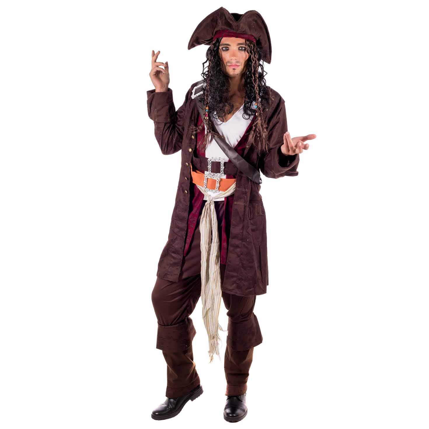 70cm Caribbean Buccaneer Pirate Sword Medieval Aged Effect Costume Accessory