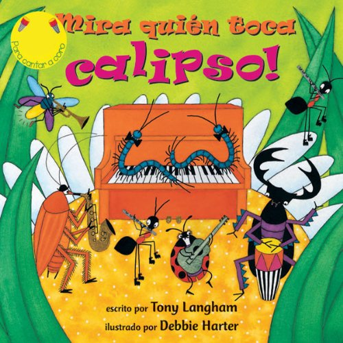 Mira Quien Toca Calipso [Creepy Crawly Calypso] audiobook cover art