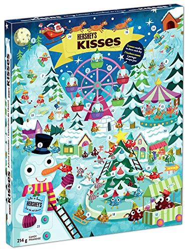 HERSHEY'S Christmas & Holiday Advent Calendar, 214 Grams