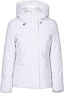 Save The Duck Luxury Fashion Womens P4546WSMEG900000 White Down Jacket | Fall Winter 19